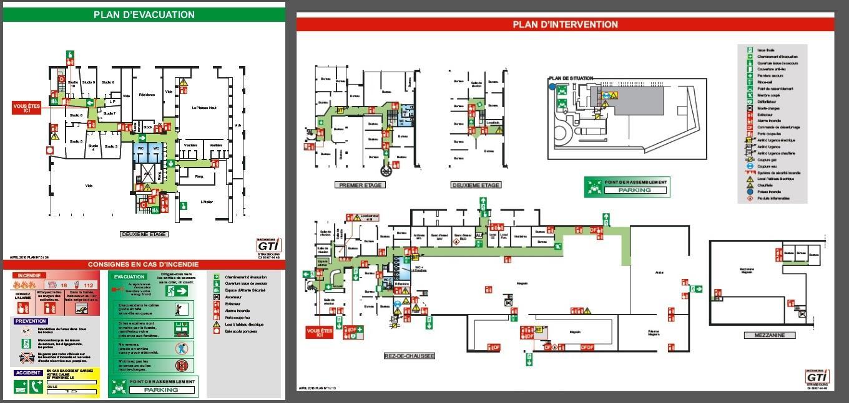 plan evacuation 2